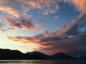 Sunset in Haines