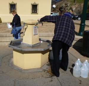 Public Mineral Water Tap