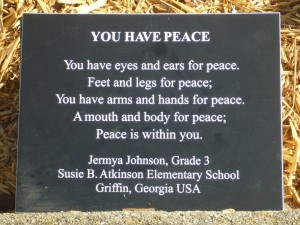 """You Have Peace"""