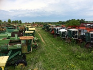 Farm Equipment Junkyard